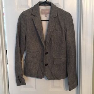 Banana republic factory herringbone blazer size 0